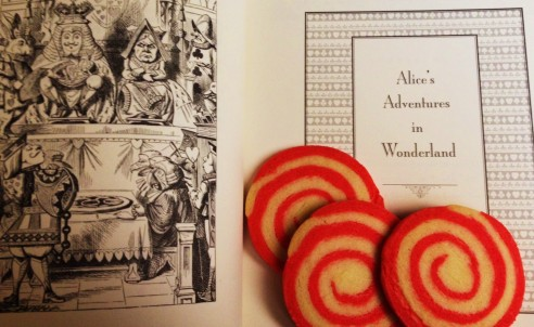 Alice and Peppermint Swirls. Careful which side you bite from...