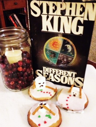 Twisted melting snowmen paired with the master of twisted plotlines.