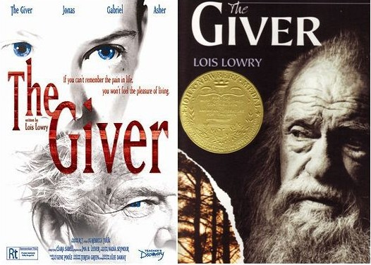 The Giver Quartet  Book Series Review   The Benson Street ThingLink The Giver with border